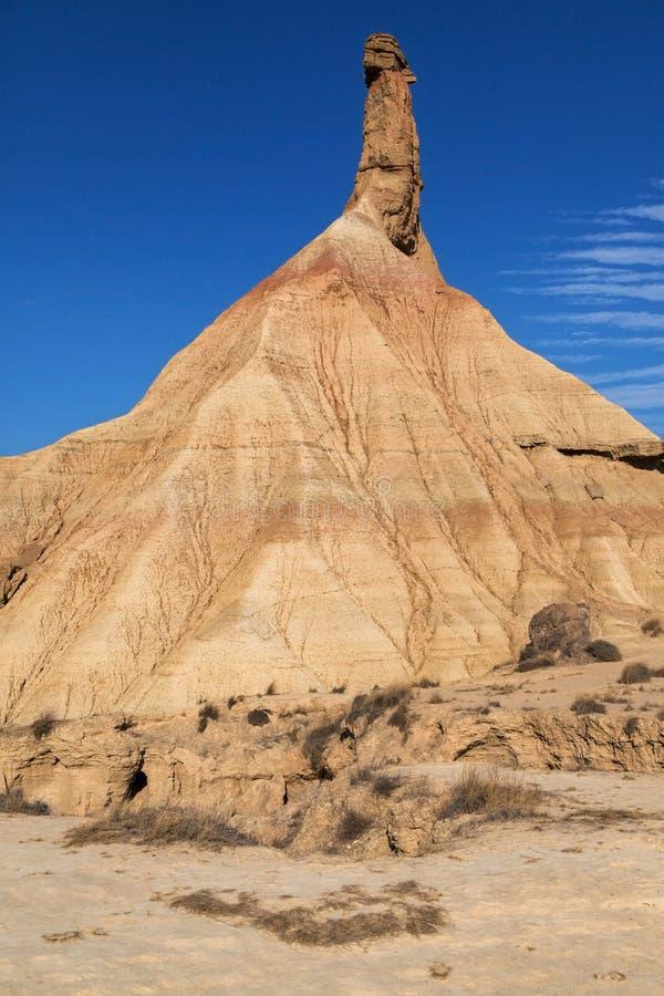 Formación de roca de Castildetierra imagen de archivo libre de regalías
