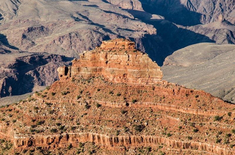 Formación de roca de la piedra arenisca de Coconino Grand Canyon foto de archivo