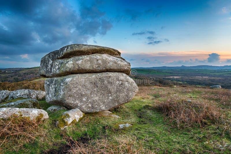 Formación de roca del granito imágenes de archivo libres de regalías