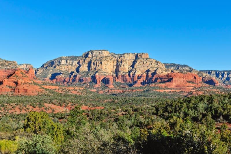 Formación de roca del Mesa Arizona fotos de archivo libres de regalías