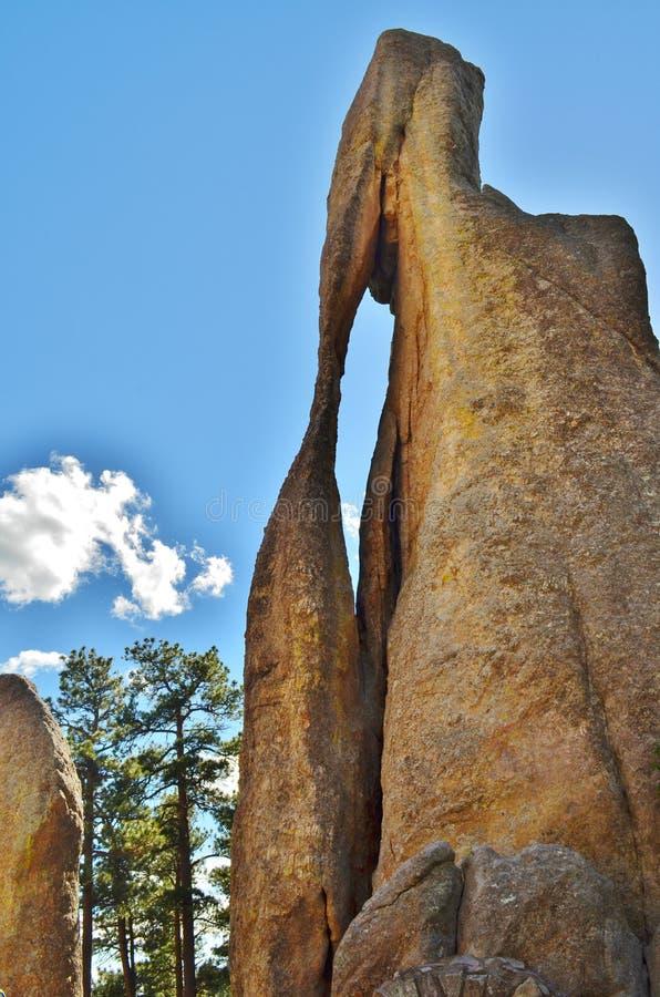 Formación de roca del ojo de la aguja. imágenes de archivo libres de regalías