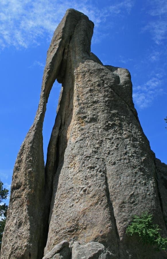Formación de roca en Dakota del Sur imagen de archivo libre de regalías