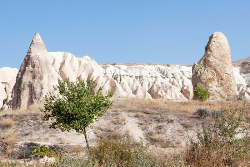 Formación de roca Göreme; Turquía fotografía de archivo