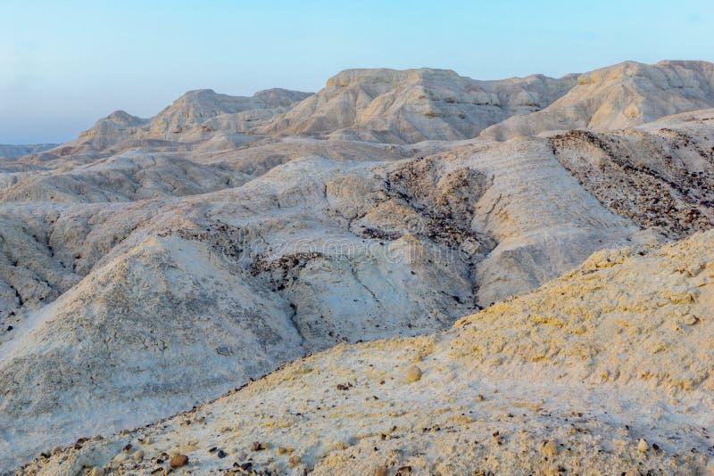 Formación de roca de Marlstone, en Neot HaKikar fotos de archivo libres de regalías