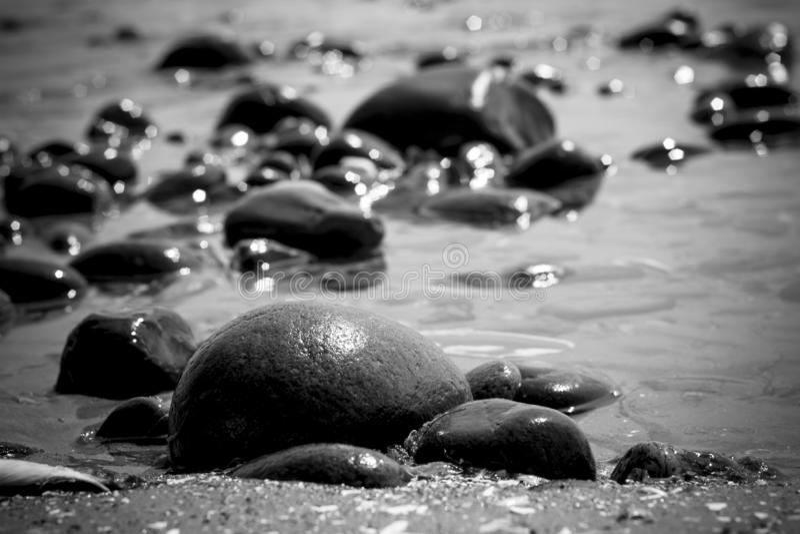 Formación de roca por el agua imágenes de archivo libres de regalías