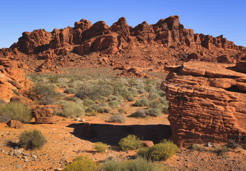Formación de roca roja foto de archivo libre de regalías
