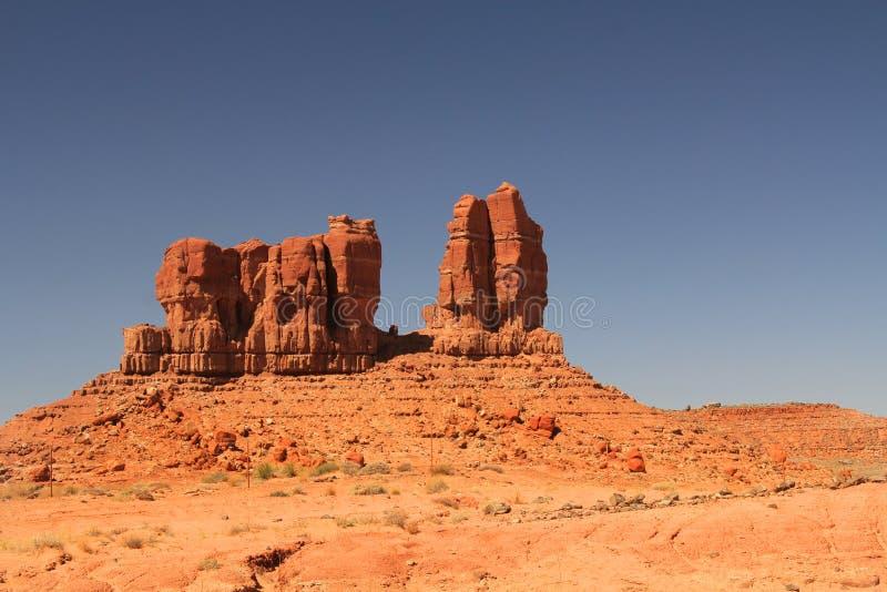 Formación de roca roja en New México septentrional imágenes de archivo libres de regalías