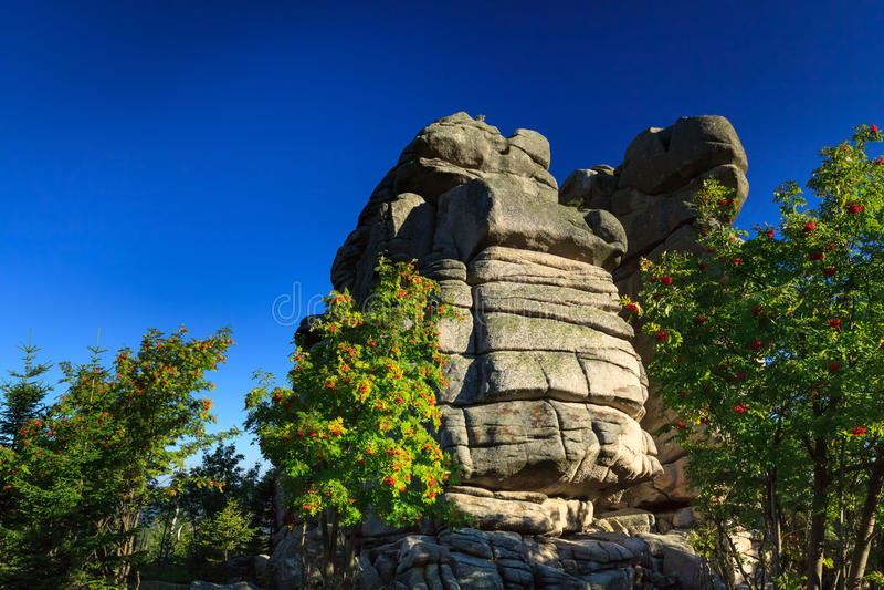 Formación de rocas foto de archivo