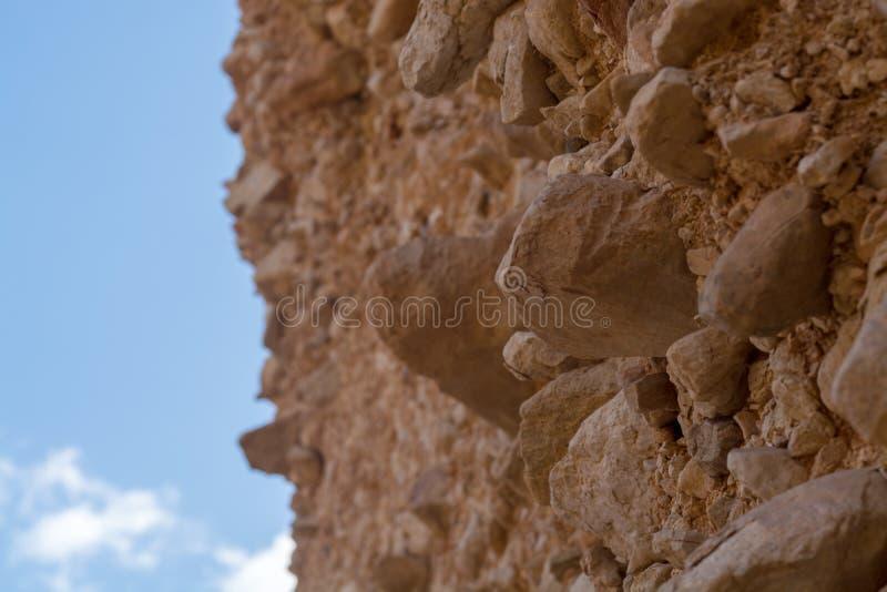 Formación geológica hermosa en el desierto, poder colorida de la piedra arenisca foto de archivo