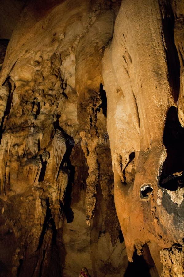 Formación II de la cueva imagen de archivo