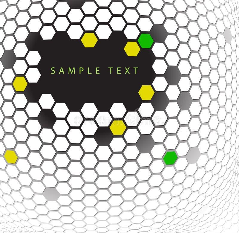 Formación técnica abstracta ilustración del vector