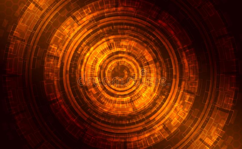 Formación técnica brillante oscura abstracta libre illustration