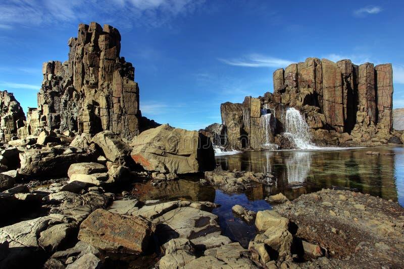 formaci nabrzeżna skała obrazy stock