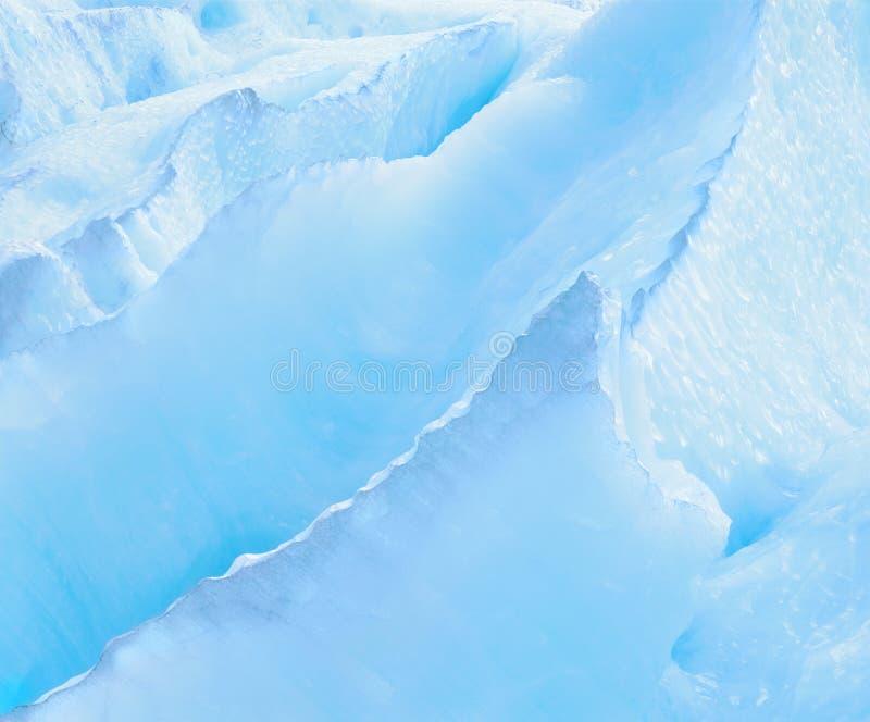 Formaciones de hielo imagen de archivo
