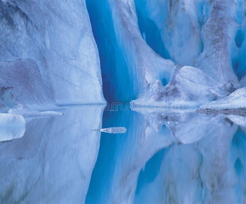 Formaciones de hielo imágenes de archivo libres de regalías