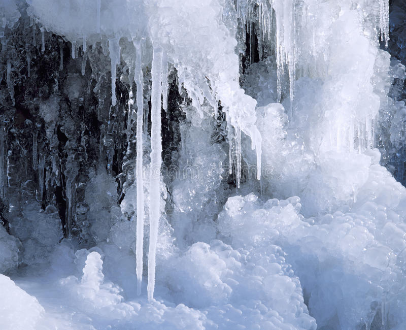 Formaciones de hielo imagenes de archivo