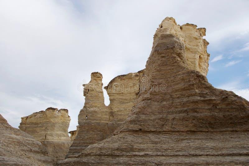 Formaciones de roca asombrosas en las rocas del monumento fotografía de archivo libre de regalías