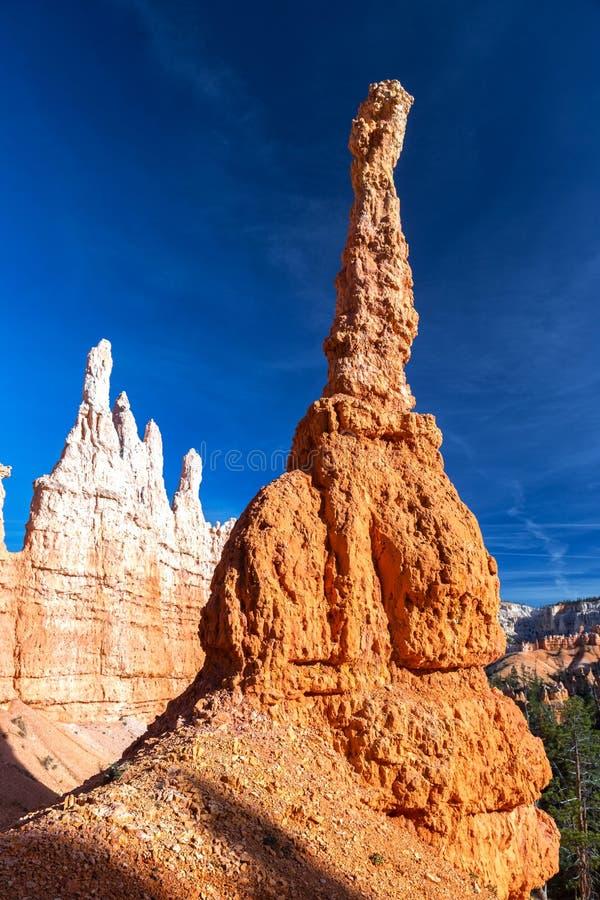 Formaciones de roca en parque nacional de la barranca de Bryce fotografía de archivo libre de regalías