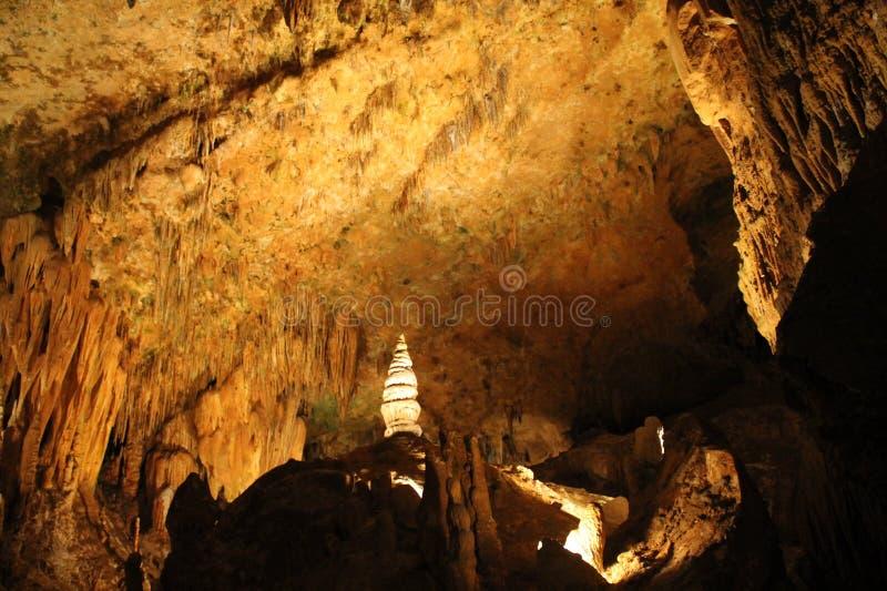 Formaciones subterráneos de las cavernas de Luray imagen de archivo libre de regalías
