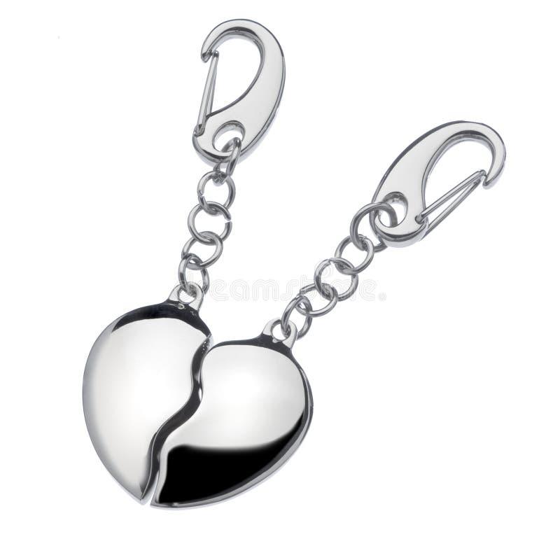 formad key cirkel för hjärta royaltyfri foto