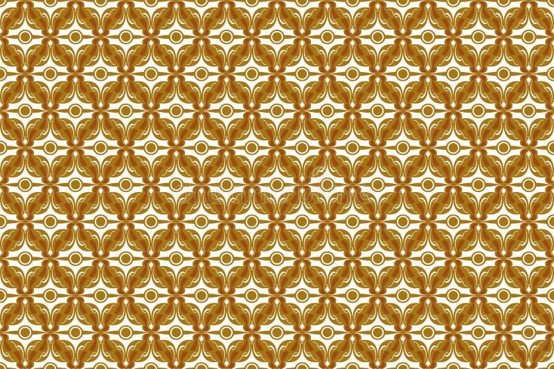 Formade abstrakt bakgrund för tappning i sömlös stil från diamanten fyrkanten royaltyfri illustrationer