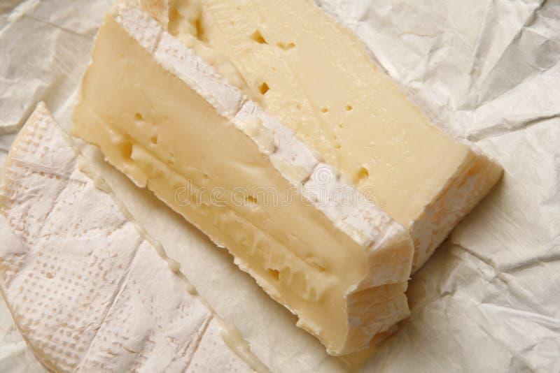 Formaggio a pasta molle del camembert fotografia stock libera da diritti