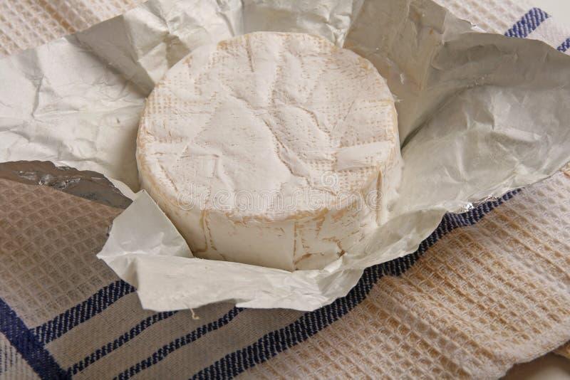 Formaggio a pasta molle del camembert fotografia stock