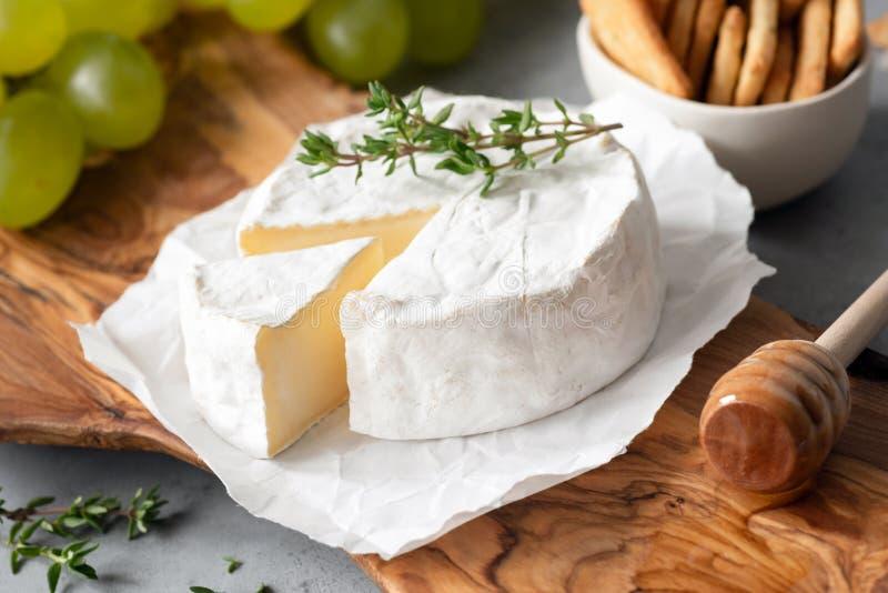 Formaggio saporito del camembert o di Brie Cheese immagine stock libera da diritti