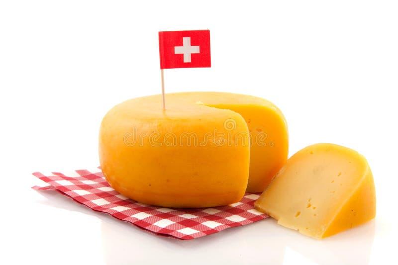 Formaggio svizzero fotografie stock libere da diritti