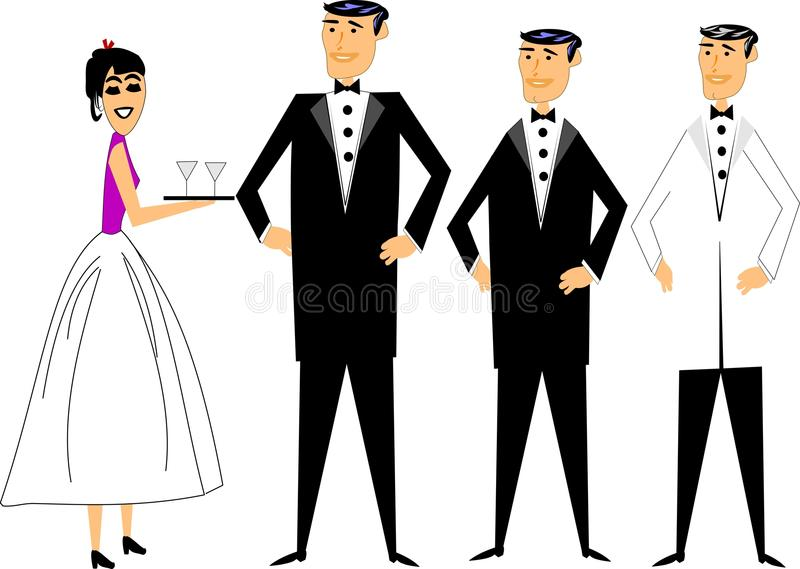 Download Formal attire stock vector. Illustration of looking, party - 21267255