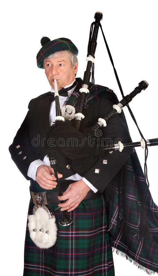 Download Formal bagpiper stock photo. Image of play, blazer, bagpipes - 12993646