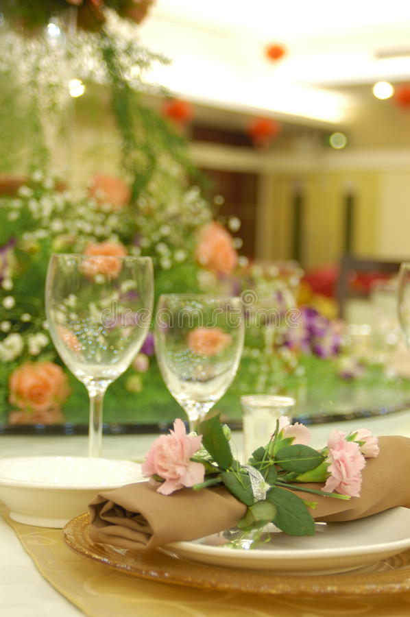 Free Formal Banquet Royalty Free Stock Photo - 18879585