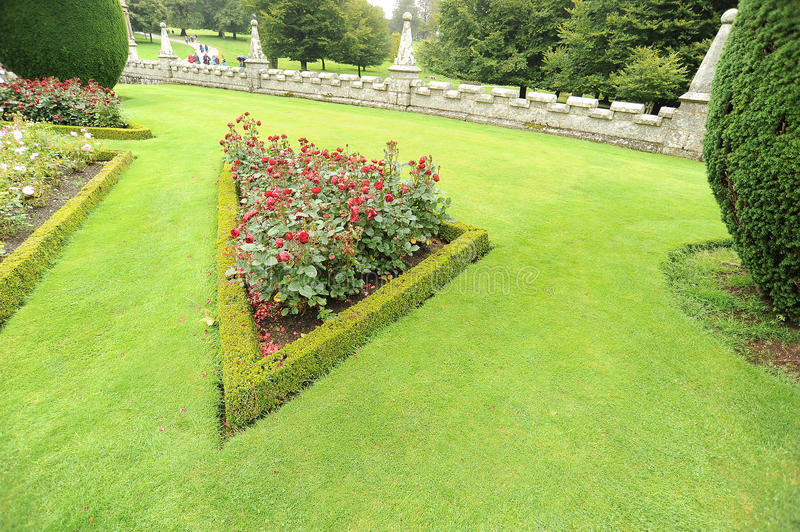 Download Formal garden stock photo. Image of hedge, garden, gardening - 26219396