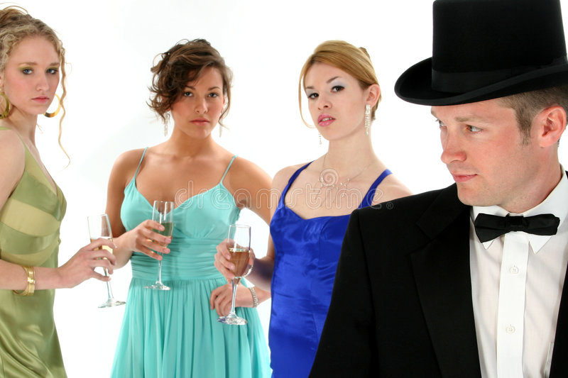 Formal Group royalty free stock photo