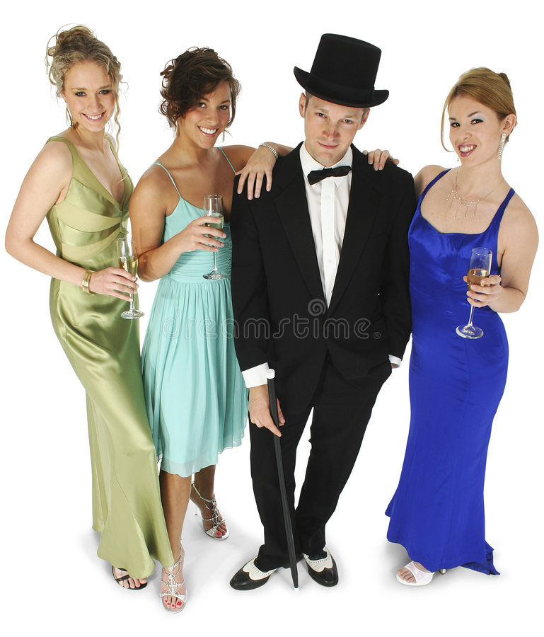 Formal Group royalty free stock photography