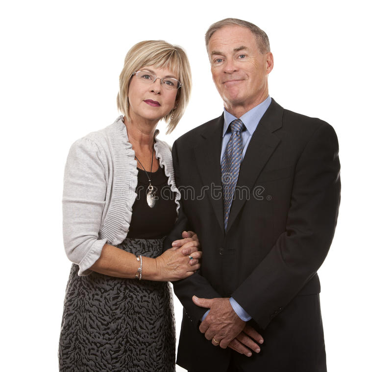 Download Formal mature couple stock image. Image of formal, businessperson - 26999737
