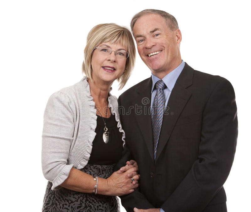 Download Formal mature couple stock photo. Image of affectionate - 26999746