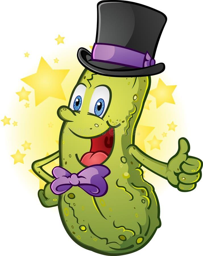Formal Pickle Character vector illustration