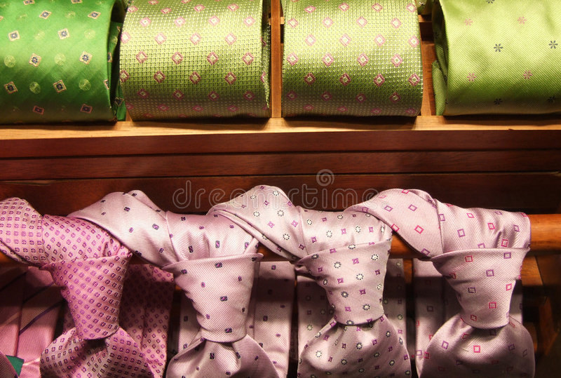 Download Formal Wear Outlet With Ties Stock Image - Image of choose, fashion: 722587