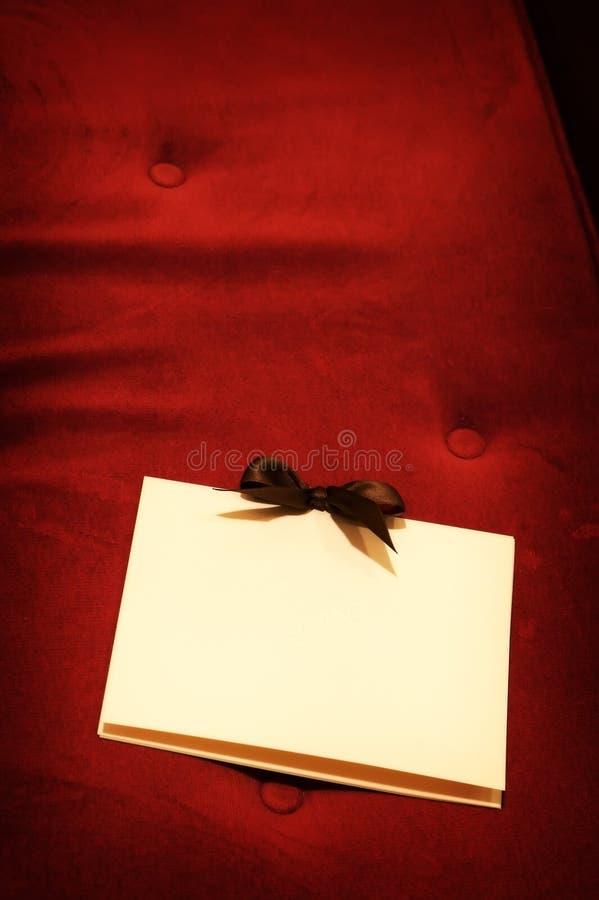 Formal wedding programs. An image of formal wedding programs royalty free stock image