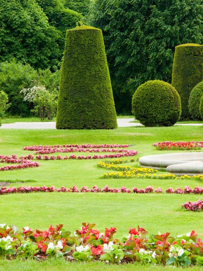 Formaler Garten lizenzfreies stockfoto