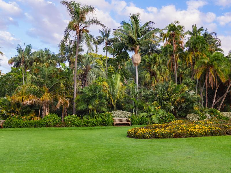 Formalnego ogródu krajobrazu szczegóły obrazy royalty free