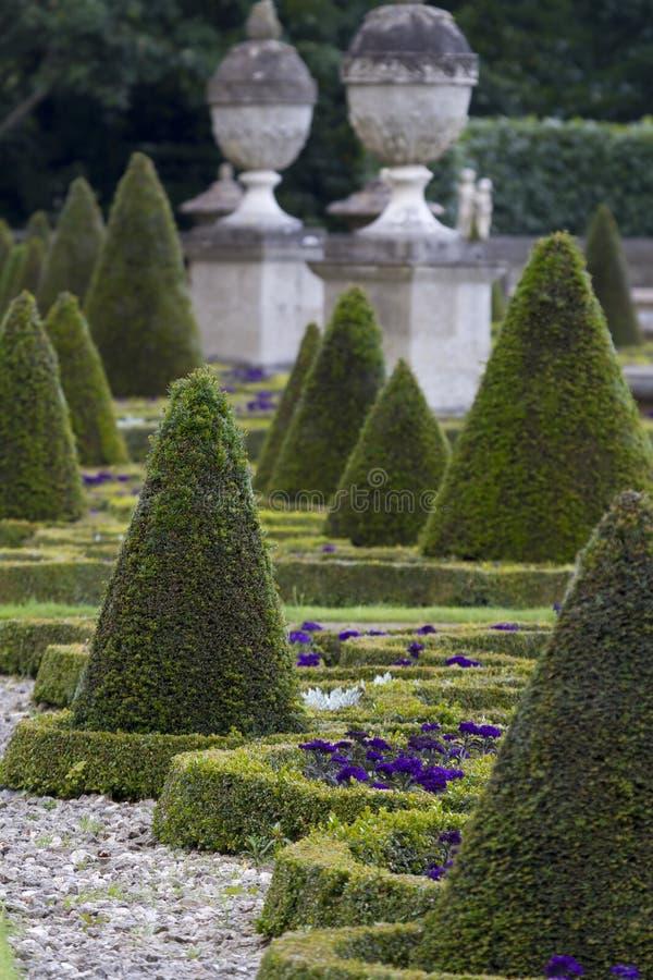 Formalny ogród zdjęcia royalty free