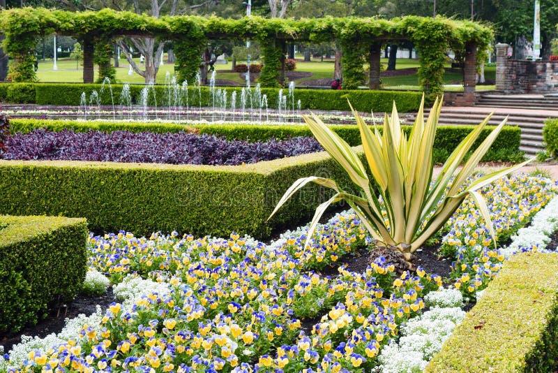 Formalny parka ogród obraz royalty free
