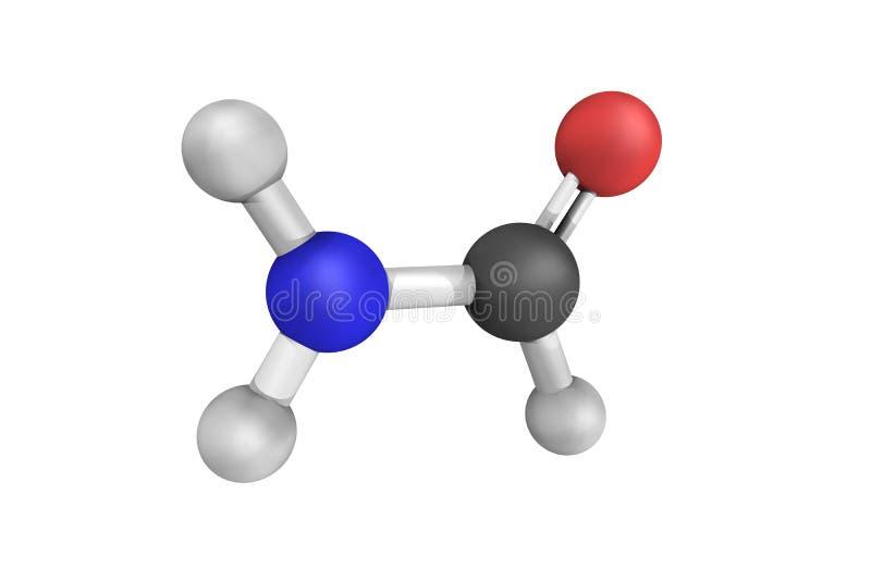 Formamide, także znać jako methanamide, jasny ciecz i rozwiązujący, zdjęcia stock