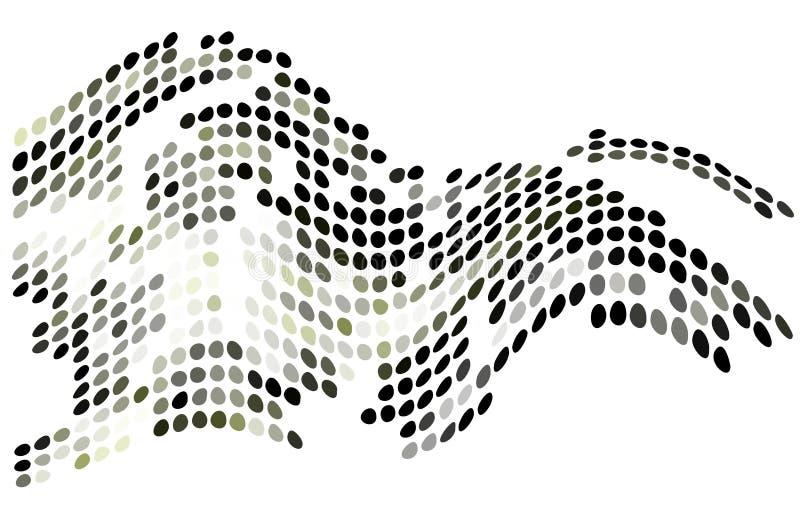 Formas abstratas do vetor. ilustração royalty free