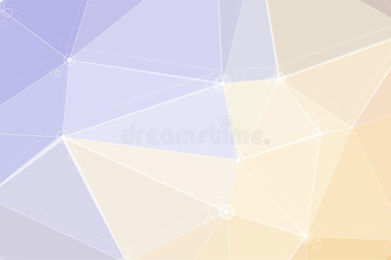 Formas coloridas geométricas ilustração do vetor