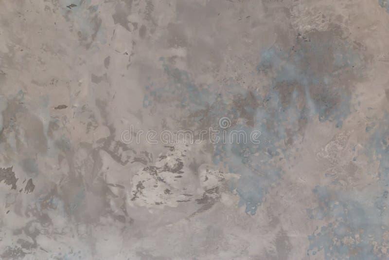 Formas de cimento de parede em forma de gesso, cor cinzenta, parede do material de superfície, detalhe do fundo de concreto bruto foto de stock royalty free