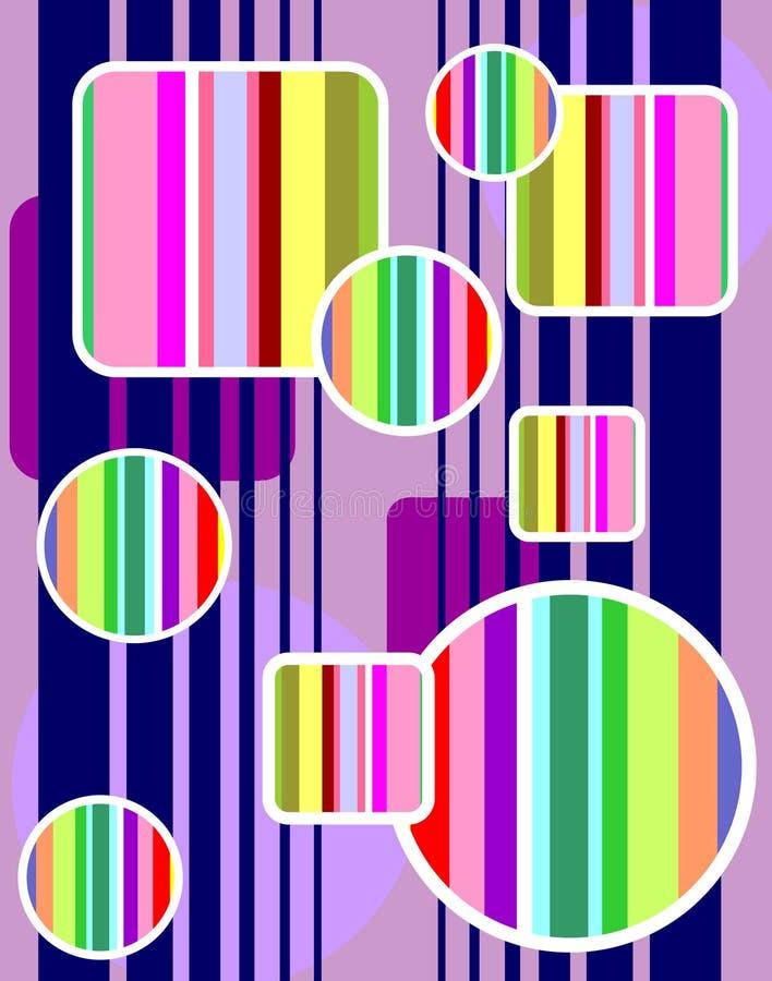 Formas do arco-íris ilustração do vetor
