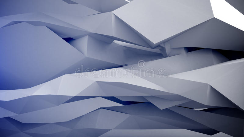 Formas geométricas abstratas ilustração royalty free
